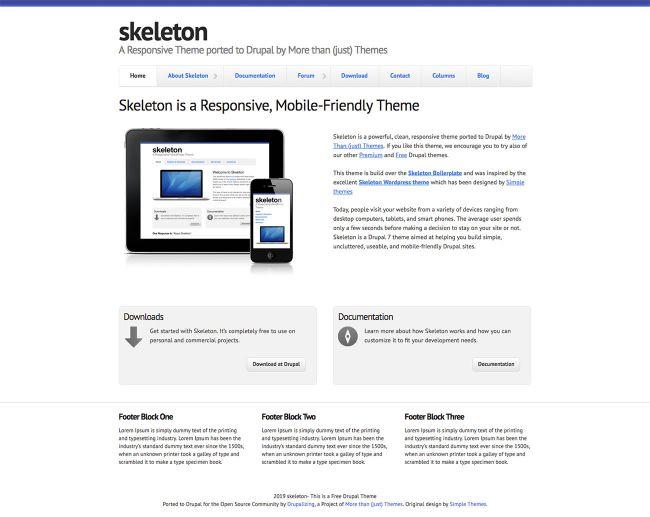[Top 20 Theme Drupal] thiết kế website tốt nhất hiện nay 1