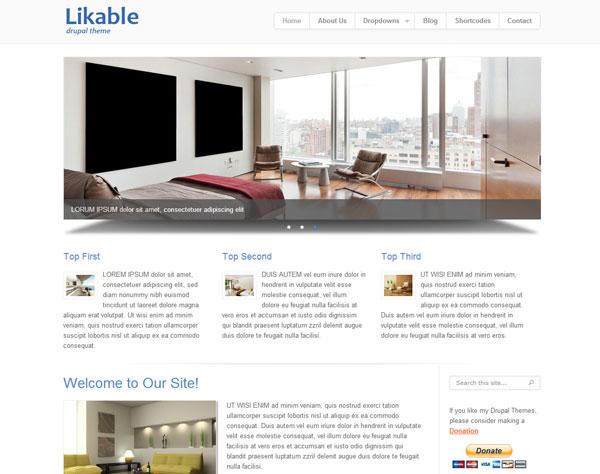 [Top 20 Theme Drupal] thiết kế website tốt nhất hiện nay 9