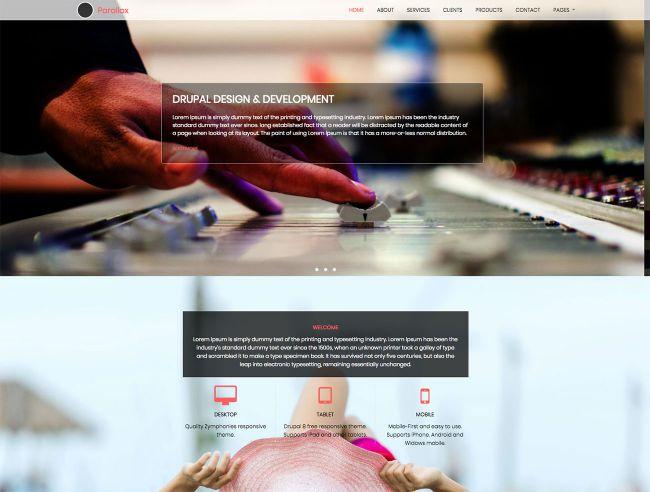 [Top 20 Theme Drupal] thiết kế website tốt nhất hiện nay 14
