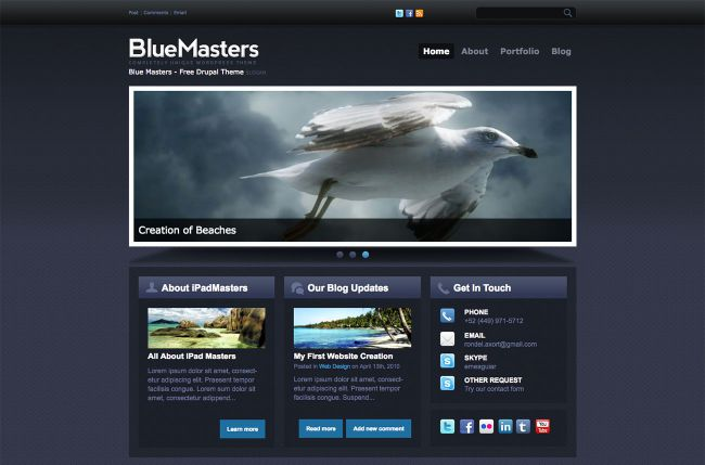 [Top 20 Theme Drupal] thiết kế website tốt nhất hiện nay 2