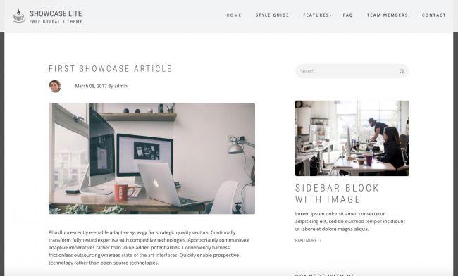 [Top 20 Theme Drupal] thiết kế website tốt nhất hiện nay 4