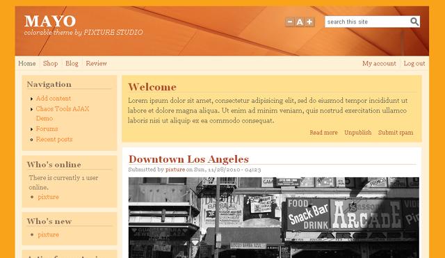 [Top 20 Theme Drupal] thiết kế website tốt nhất hiện nay 5