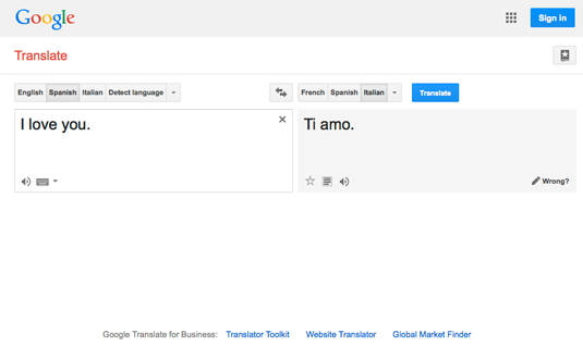 google translate là gì