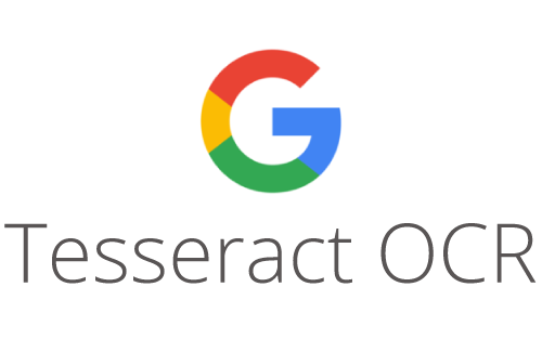 google tesseract ocr logo