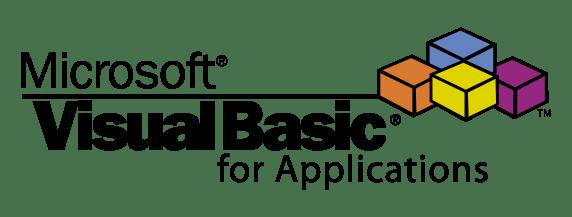 vba logo, Visual Basic for Applications logo