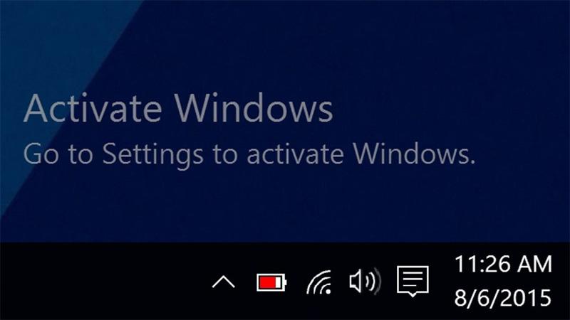 cách acitive windows 10 bằng KMSpico
