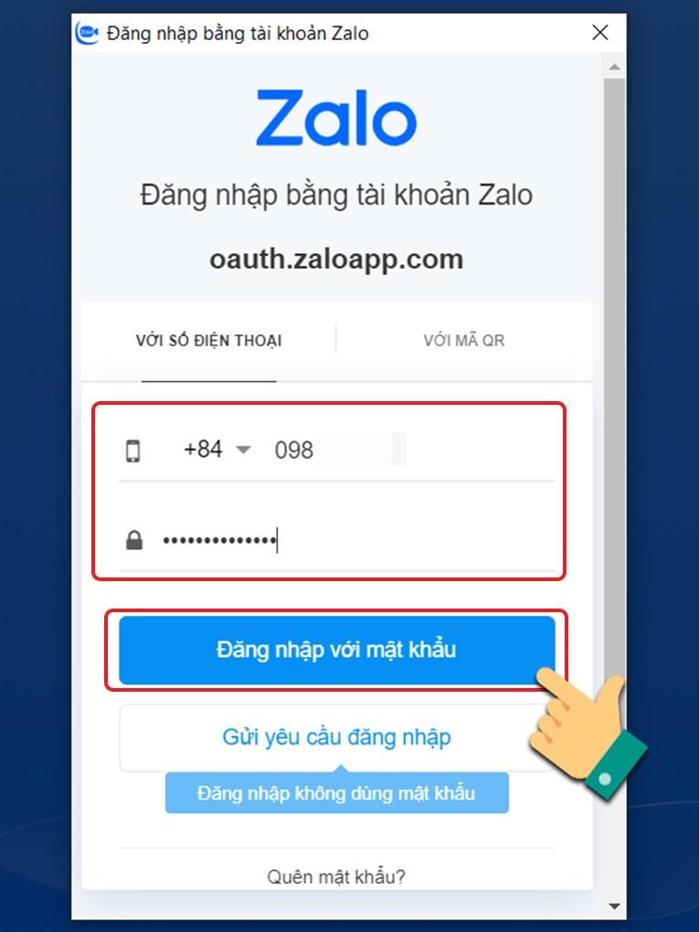 Cách tạo tài khoản Zavi